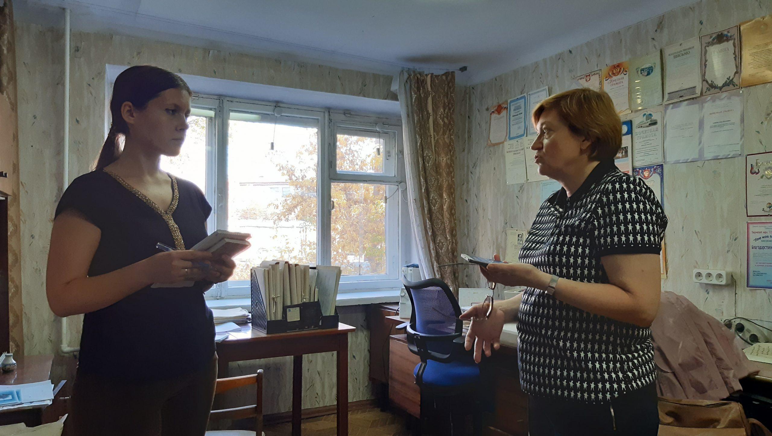 Интервью с Т.Б. Смирновой А.А. Гоппе, г. Омск, Омская область, 2019 г.